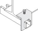"Beam Clamp For Use With 1-5/8"" Strut"